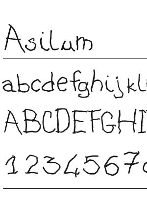 Font – Asilum