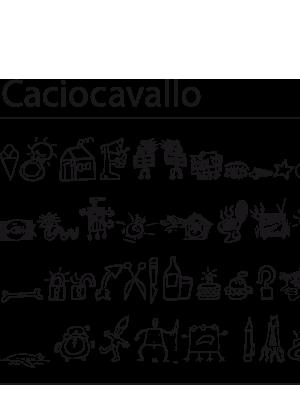 Font – Caciocavallo