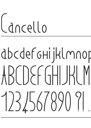 Font – Cancello