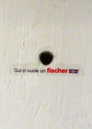 Fischer Italia – Guerrilla marketing