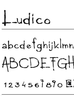 Font – Ludico