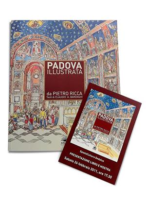 Padova Illustrata – Libro e presentazione