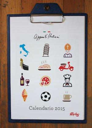 Calendario Raptus 2015