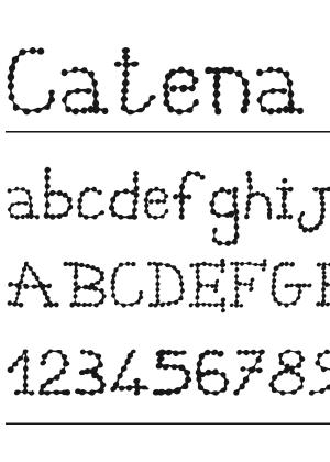Font – Catena