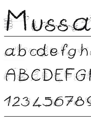 Font – Mussati