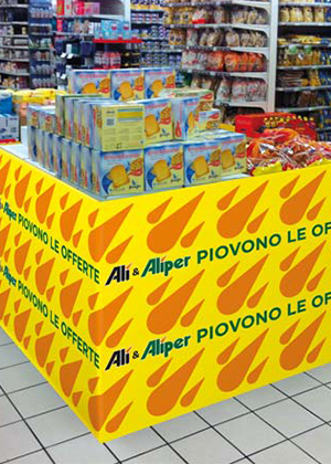 Supermercati Alì – Fascia copripallet